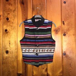 Vintage Miller Stockman Boho Vest